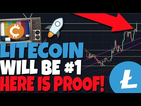 Litecoin Will Be #1 And Worth More Than Bitcoin, I Have Proof. Stellar Rally! (XLM)