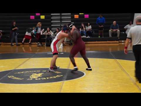 Isaiah wrestling 01/12/17 vs Tucker Creek Middle School