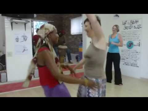 Western African Dance class with Vera Ephraim