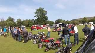 Monkey Bikes at Hardhurst Farm Camp Site near Hope in the Peak District
