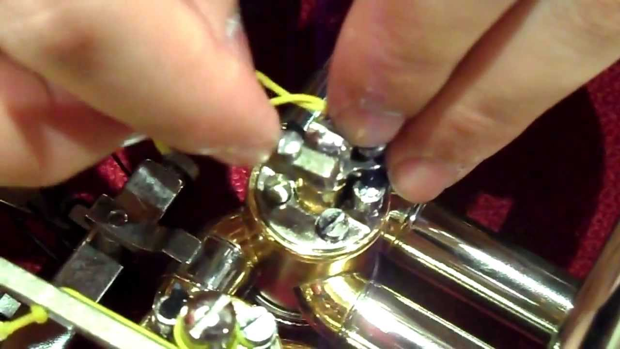 maxresdefault how to (re)string a french horn valve youtube