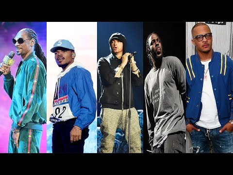 Top Rappers Name Their Favorite Rappers (Eminem, Kendrick Lamar, Chance The Rapper & More!)