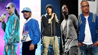 Top Rappers Name Their Favorite Rappers Eminem Kendrick Lamar Chance The Rapper More