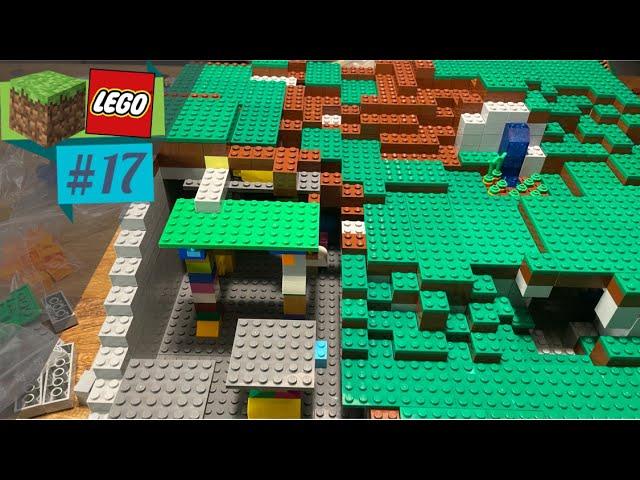 LEGO® X Minecraft World #17 - Wir schaffen extrem viel! 🧑🏼🌾👷🏼