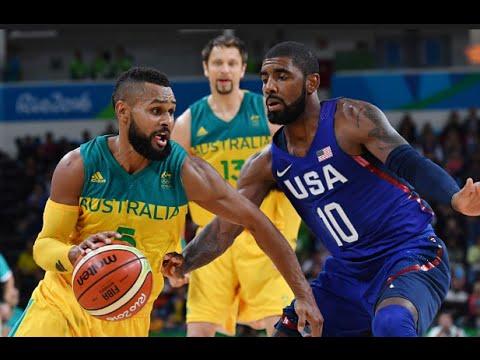 usa australien basketball