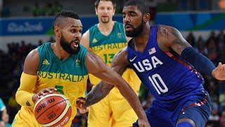 Rio Olympics 2016 - USA vs Australia - Basketball 2016 and John Saunders Tribute