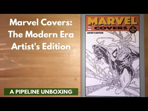 Unboxing Marvel Covers: The Modern Era Artist's Edition