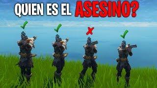 QUIÉN ES EL ASESINO!? *NUEVO MINIJUEGO* FORTNITE