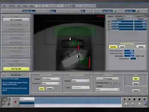 Cognex Machine Vision Inspection System Youtube