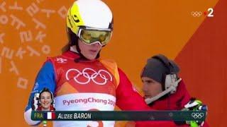 JO 2018 : Ski cross Femmes. Alizée Baron :