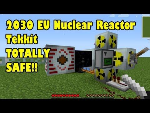 Safe 2030 EU Nuclear Reactor in Tekkit