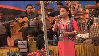 Prashna Shakya performing Narayan Gopal's song Bipana Nabhai