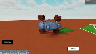 Roblox Monster Jam Stunt Compilation 20! (Really Long Sidewalls)