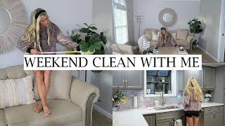 Video WEEKEND CLEAN WITH ME | SPEED CLEAN WITH ME | ERICA LEE download MP3, 3GP, MP4, WEBM, AVI, FLV September 2018