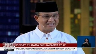 Video Debat Pilkada DKI 2017 - Segmen 3: Debat Soal Penggusuran download MP3, 3GP, MP4, WEBM, AVI, FLV Januari 2018