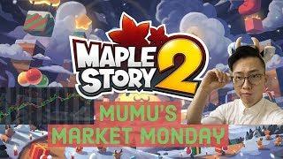 [Maplestory 2] Mumu's Announcement: Market Mondays / Sakuracon