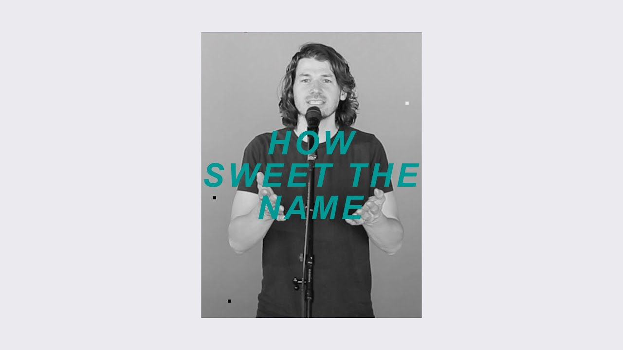 How Sweet The Name (Live) - Simon Brading Cover Image