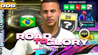 FIFA 21 ROAD TO GLORY #6 - BIG COIN PAYOUT!!