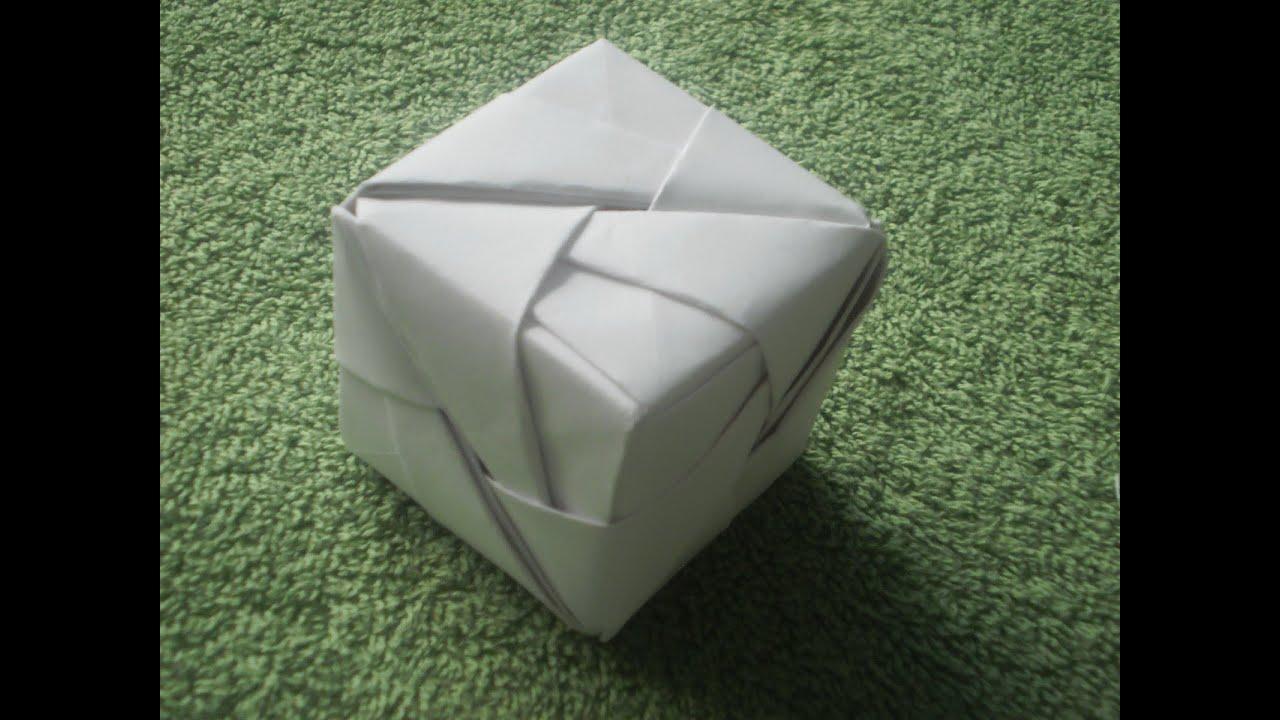 Origami Tutorial CubeSonobe