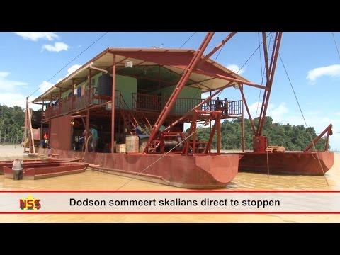 Dodson sommeert skalians direct te stoppen