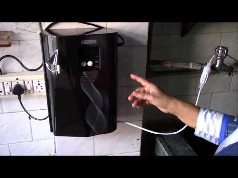 Blue Star Pristina UV Water Purifier - Demo