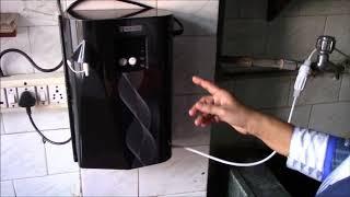 Blue Star Pristina UV Water Purifier - Demo