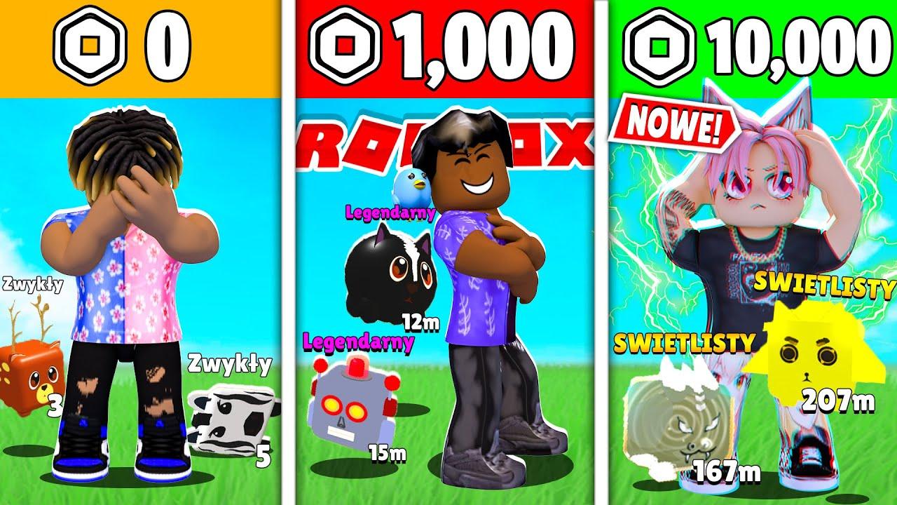 ZWIERZAKI ZA 0 ROBUX, 1.000 ROBUX, 10.000 ROBUX w PET ISLAND SIMULATOR (Roblox | Yoshi)