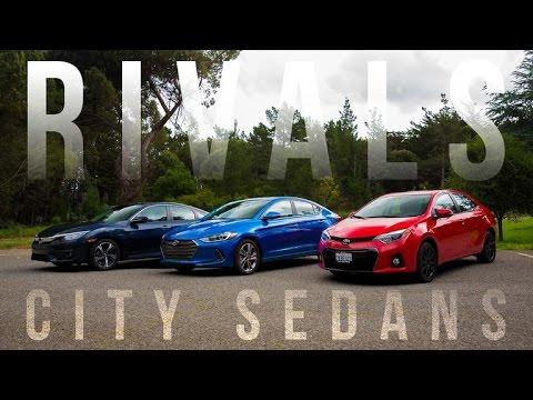 Rivals Honda Civic vs. Hyundai Elantra vs. Toyota Corolla