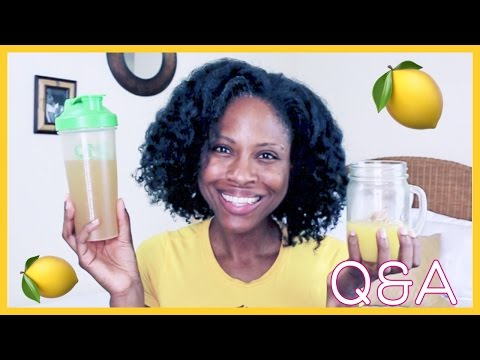 Master Cleanse Lemonade Detox Diet Q&A! • @glamazini