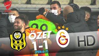 Yeni Malatyaspor - Galatasaray Ziraat Türkiye Kupası Son 16 Turu Maçının Özeti