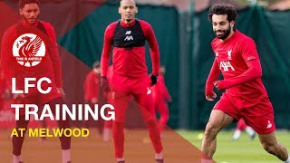 Liverpool FC Training | Keepers and Rondos