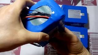 Li-ion аккумуляторные батареи LiitoKala  для электробайков (24V/10000mAh)