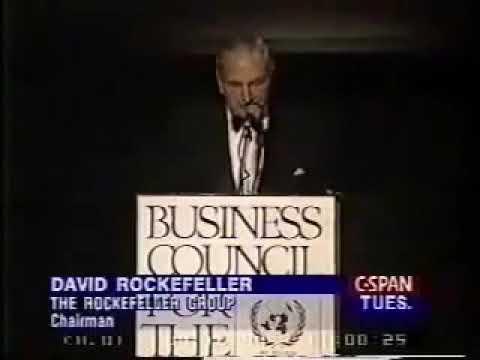 Дэвид Рокфеллер, ООН, 14.09.1994