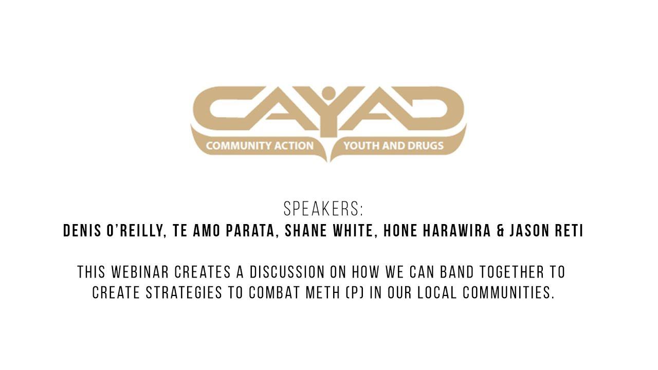 CAYAD Webinar - 21st March 2019