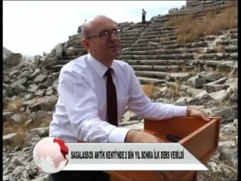 Sagalassos Antik Kenti'nde 2 Bin Yıl Sonra İlk Ders Rektörümüz Tarafından Verildi