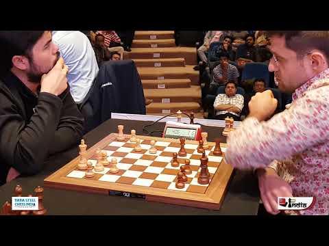 Hikaru Nakamura's Fantastic Endgame Technique | Tata Steel Chess India 2019 Blitz