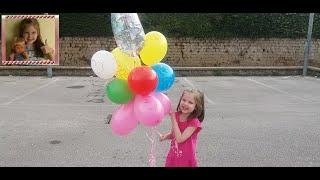 Анечка,с Днём рождения тебя!!! #Улетающие шарики(Сегодня у Анечки День Рождения. Анечка,с Днём рождения тебя!!! Мы подготавливаем много много воздушных шарик..., 2016-06-16T17:26:39.000Z)