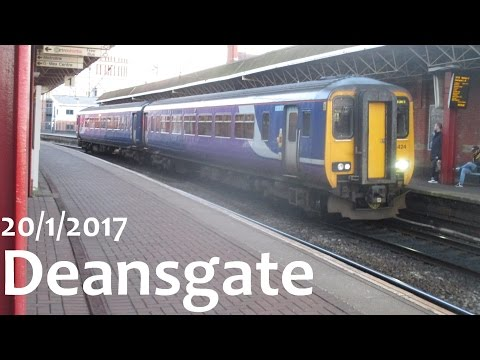 Deansgate! 20/1/2017 (Trainspotting #32)