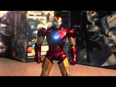 Iron man VS Gundams stop motion