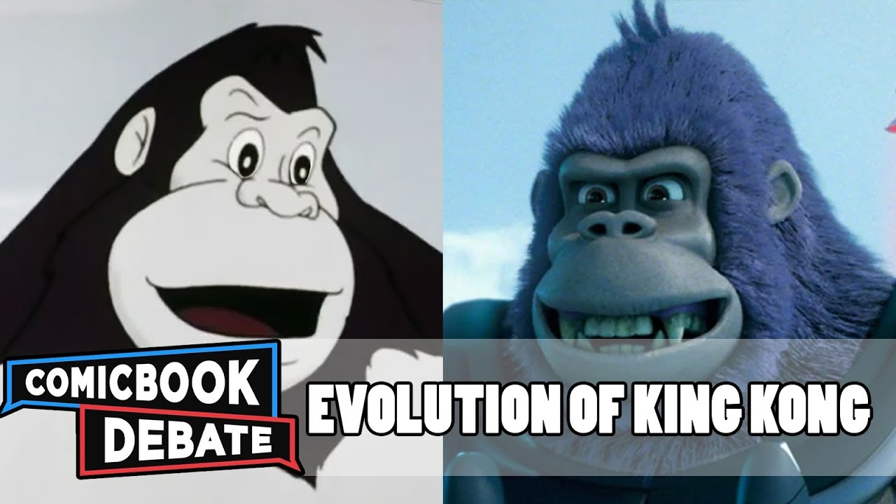 Evolution of King Kong in Cartoons in 4 Minutes (2018)