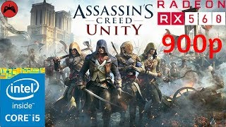 Assassins Creed Unity Gameplay | Core I5 3570 + RX 560 4GB High Settings
