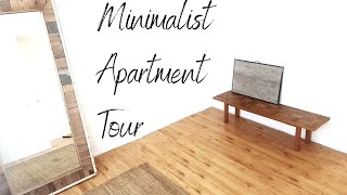 My Extreme Minimalist Apartment Tour (Low Furniture)