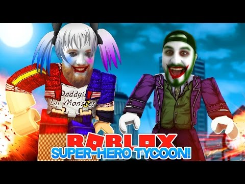 ROBLOX ADVENTURE - ROPO & SHARKY  ARE HARLEY QUINN & THE JOKER!!!