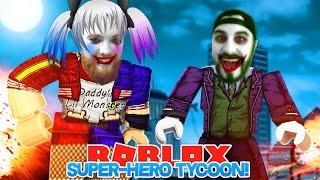 ROBLOX ADVENTURE - ROPO & SHARKY  ARE HARLEY QUINN & THE JOKER!!!