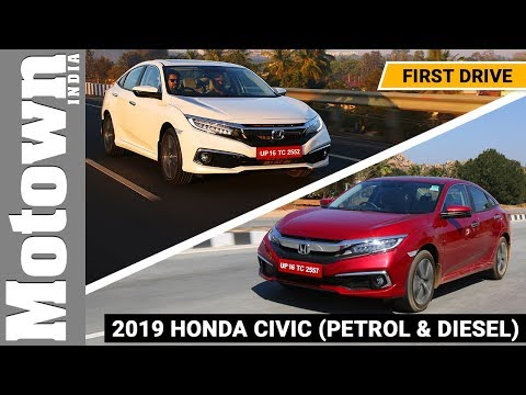 Honda Civic Review | Toyota Corolla Altis watch out!  Motown India