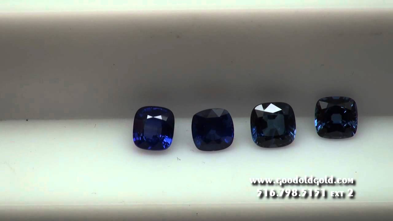 index cushion jewelry sapphire cut blue color great loose stone