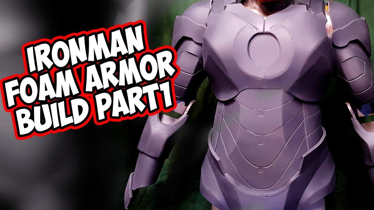 IronMan IV Foam Armor How To DiY Part 1