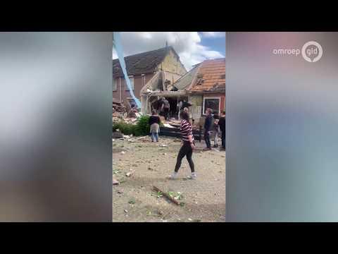 Enorme explosie in Nijmegen