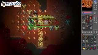 Tibia: Hunt Hellspawn 600k exp - RP 57 - ED 63 - MS 83 - EK 122