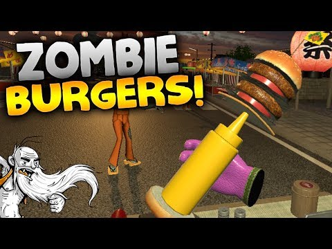 """Dead Hungry VR Gameplay - """"ZOMBIE BURGER TRUCK!!!"""" HTC Vive Virtual Reality Let's Play"""